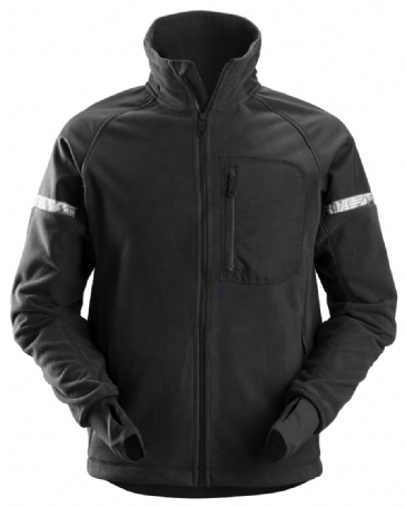 Snickers 8005 AllroundWork Windproof Fleece Jacket (Black/Black)